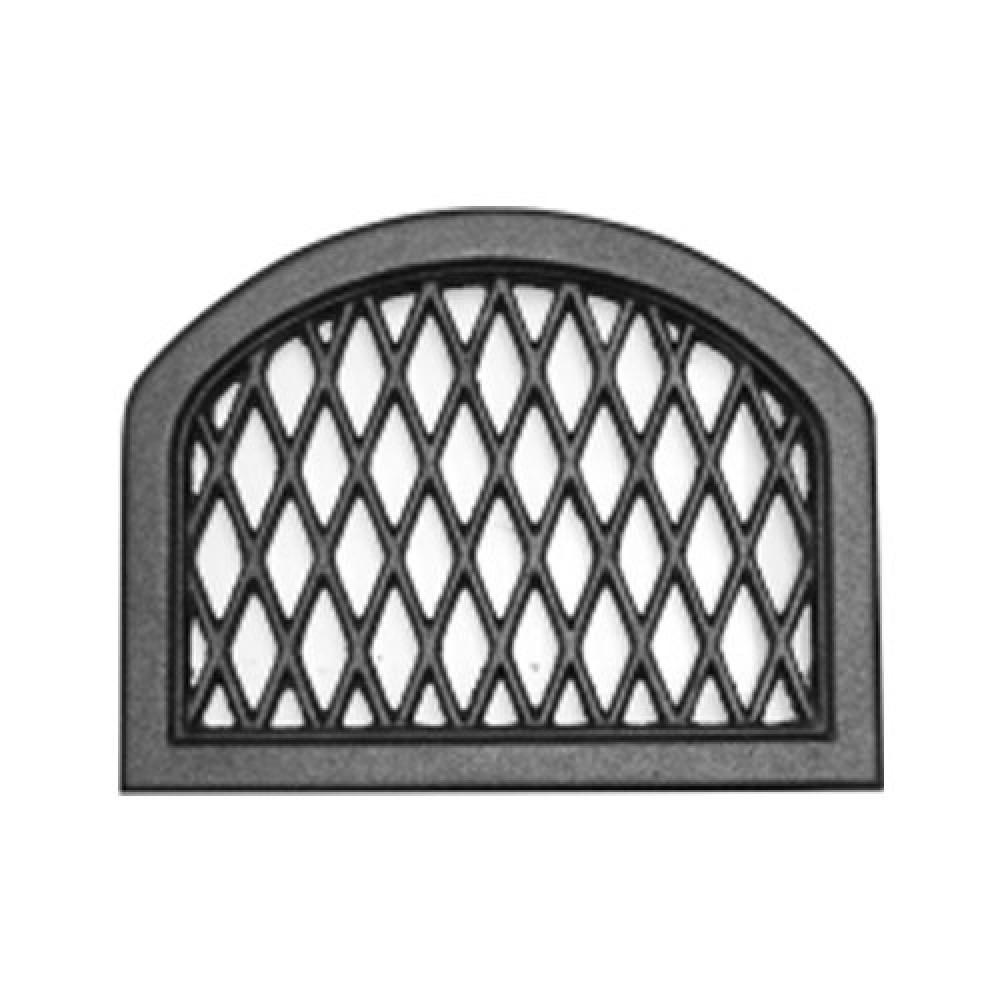 Решетка каминная чугунная 255х195 каро Tarnavva