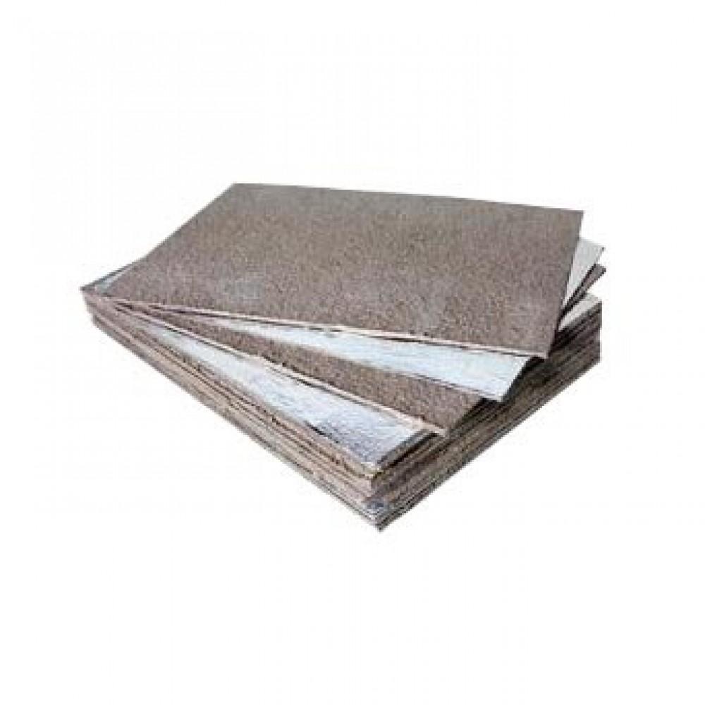 Базальтовый картон фольгированный 1000*600*10мм
