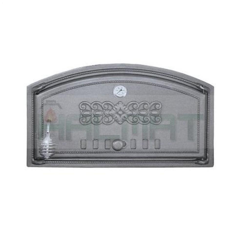 H1004 Дверца с термометром глухая правая DCH2T