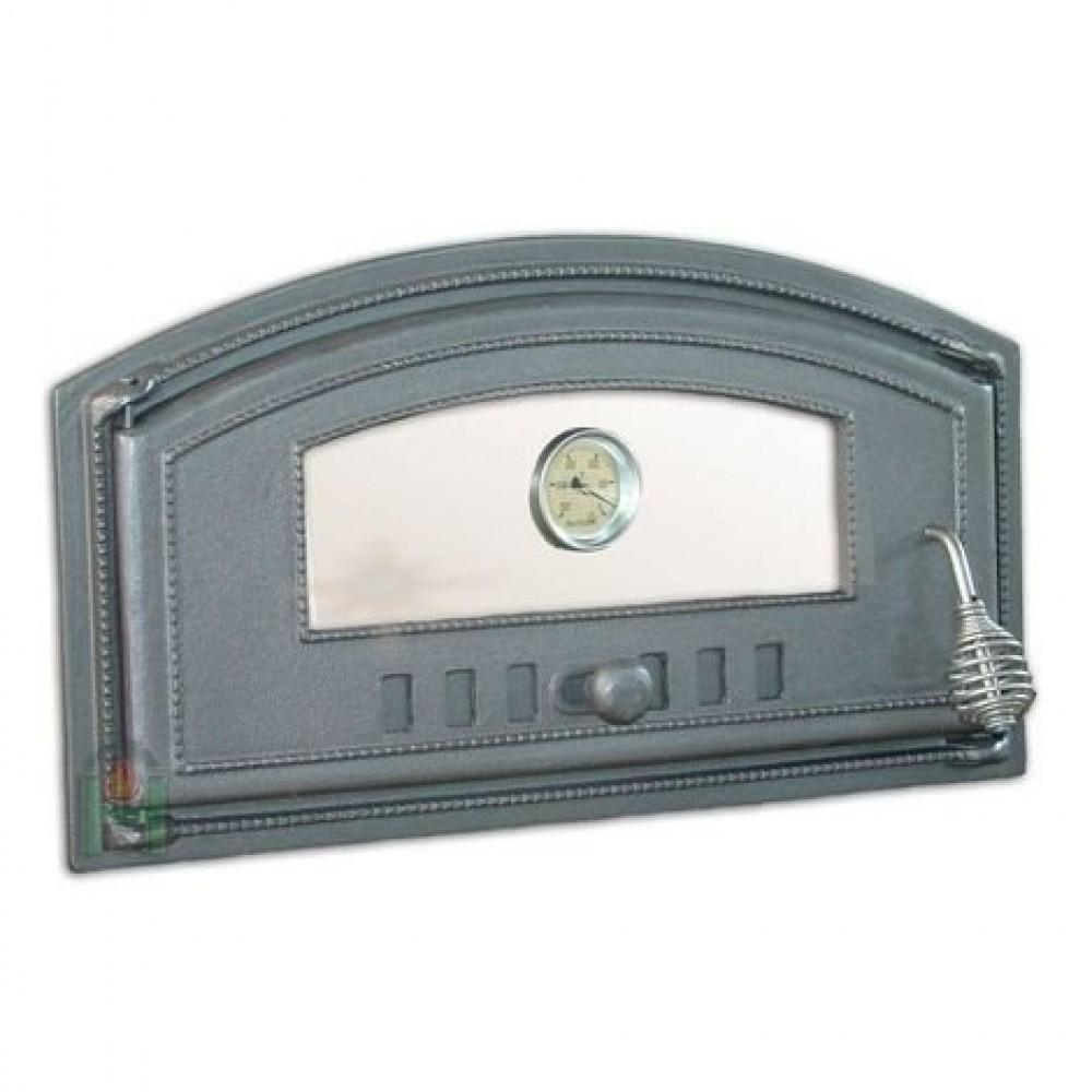 H1007 Дверца левая со стеклом и термометром DCH3Т