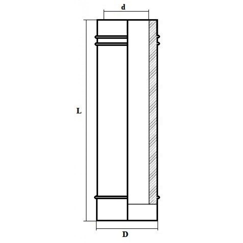 Дымоход «Вермилоджик» Труба L330