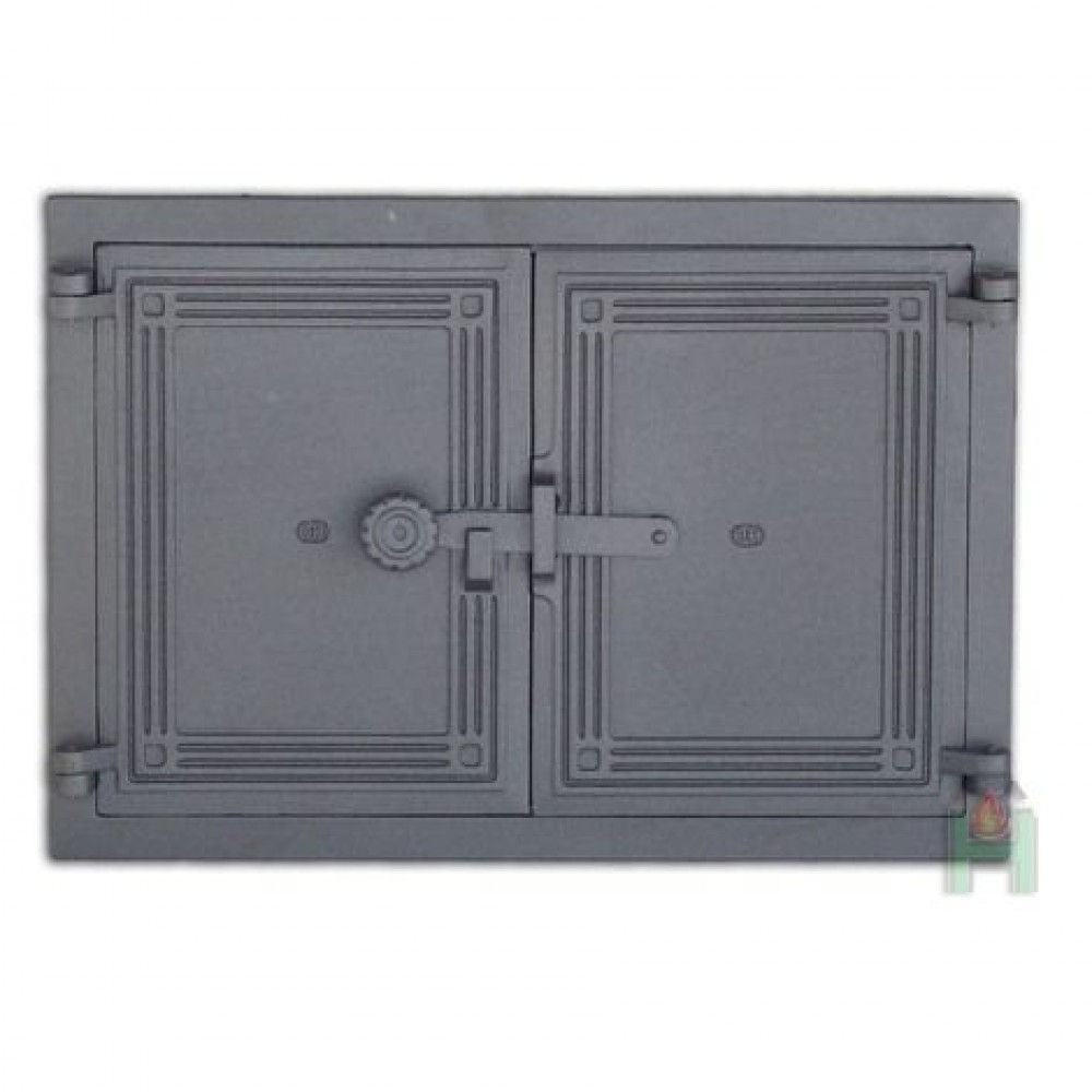 H1105 Дверца двустворчатая с засовом DCHP5