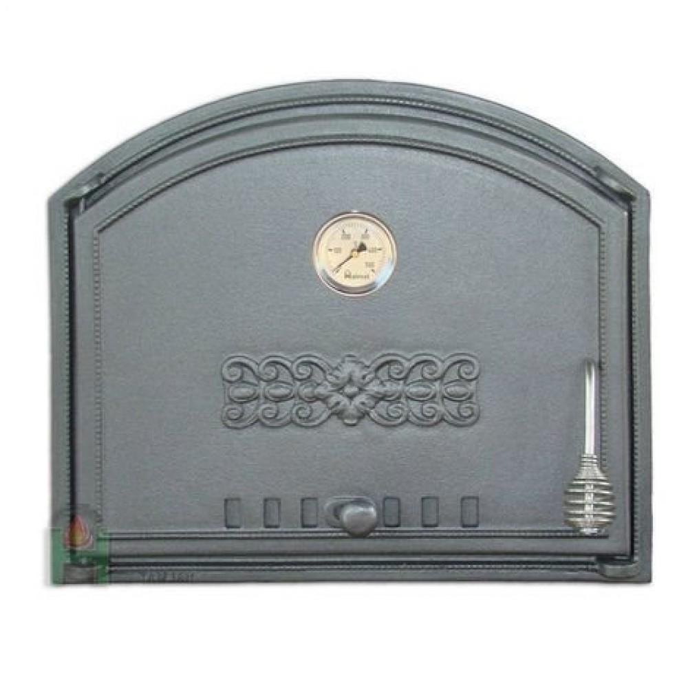 H1203 Дверца глухая левая с термометром DCHS1T