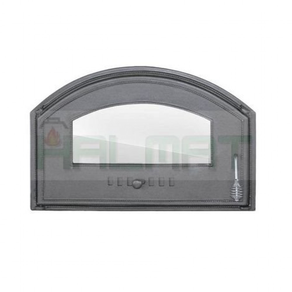 H1305 Дверца со стеклом левая DCHD3