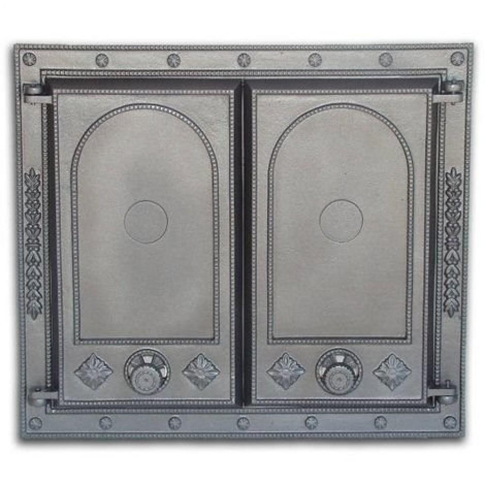 H1507 Дверца двустворчатая глухая DW7