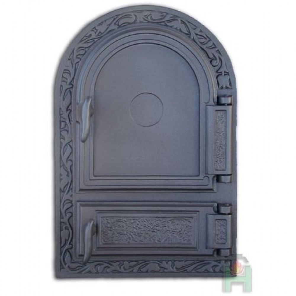 H1510 Дверца печки правая с зольником DW10