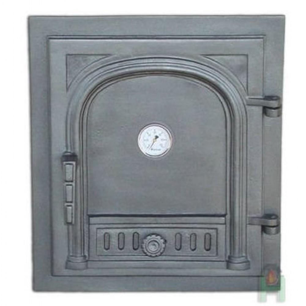 H1525 Дверца с термометром глухая правая DW2T