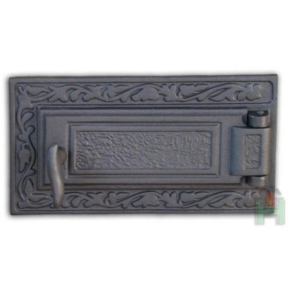 H1607 Чугунная дверца зольника DPK6