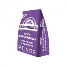 Клей жаростойкий для печей и каминов «Печникъ» 10 кг