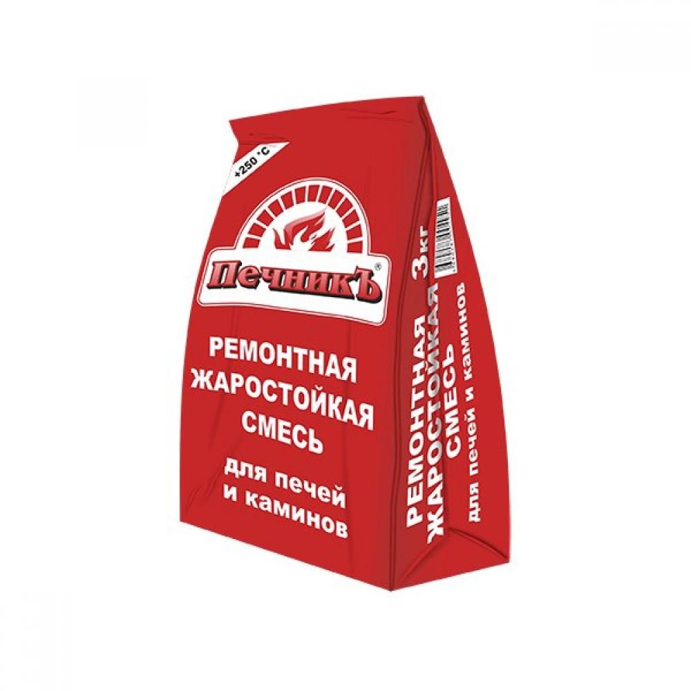 Ремонтная смесь для печей и каминов «Печникъ» 3 кг