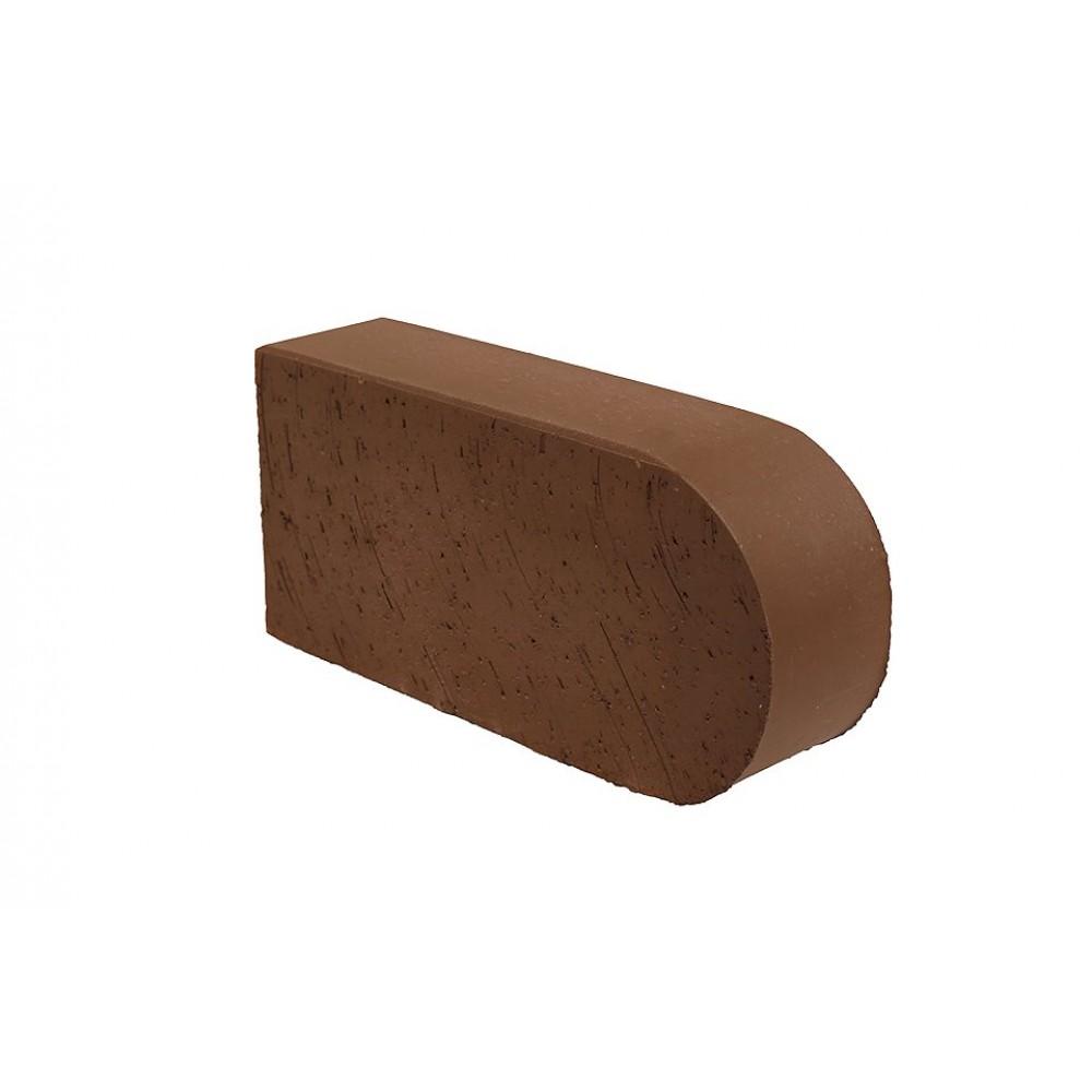 Кирпич полнотелый коричневый гладкий (F22) Lode