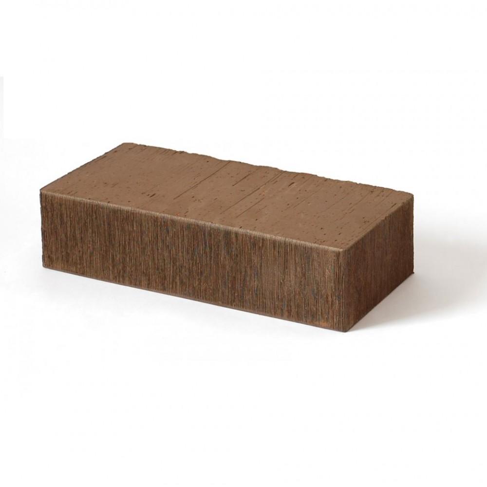 Кирпичй полнотелый коричневый штриховой 250х120х65 Lode