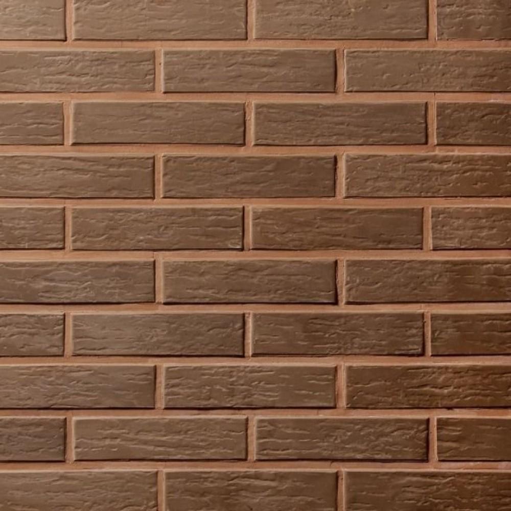 Кирпич полнотелый коричневый ретро 250х120х65 Lode