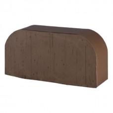 Кирпич полнотелый коричневый гладкий 2R-60 (F14) Lode