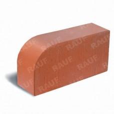Кирпич лицевой полнотелый красный гладкий угловой R-60 «Победа ЛСР»
