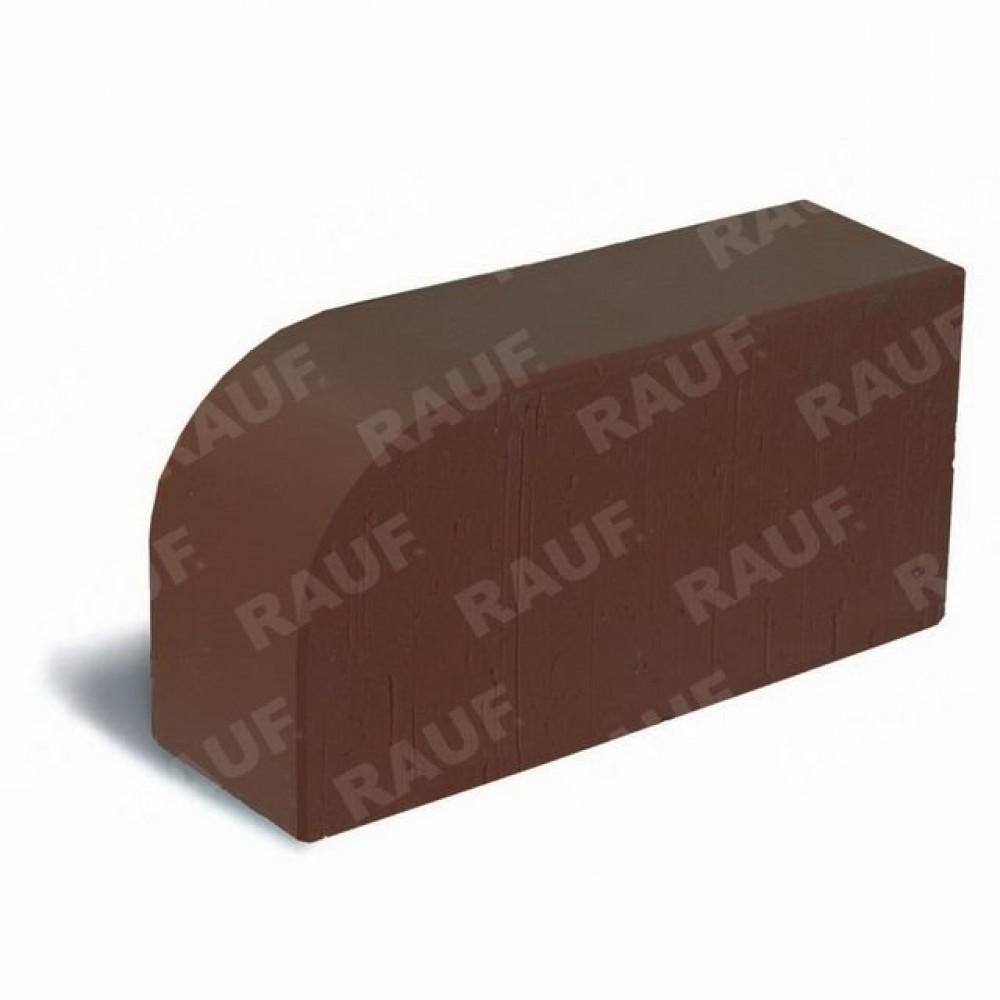 Кирпич лицевой полнотелый коричневый гладкий угловой R-60 «Победа ЛСР»