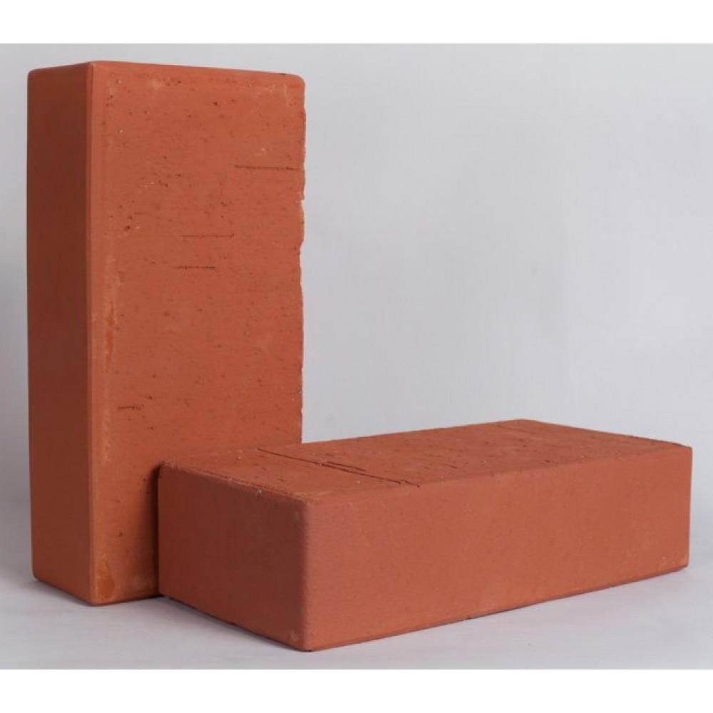 Кирпич лицевой полнотелый красный КС-керамик