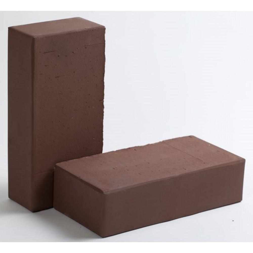 Кирпич лицевой полнотелый шоколад КС-керамик