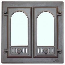 301 LK Дверка каминная Стекло