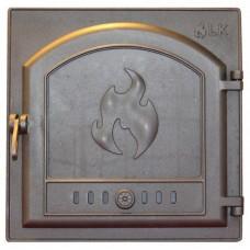 306 Дверца топочная чугунная LK