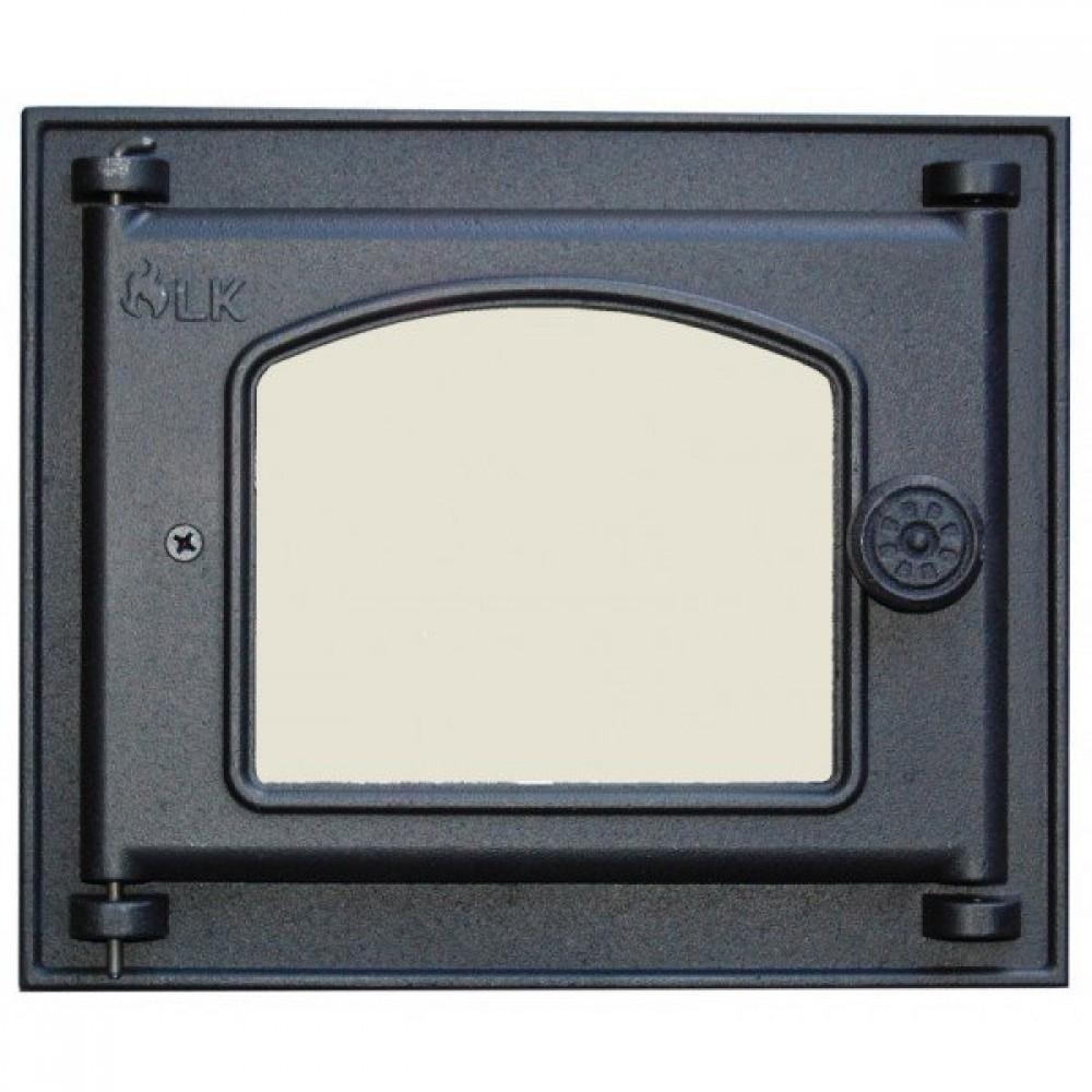 351 Дверца LK Топочная со стеклом