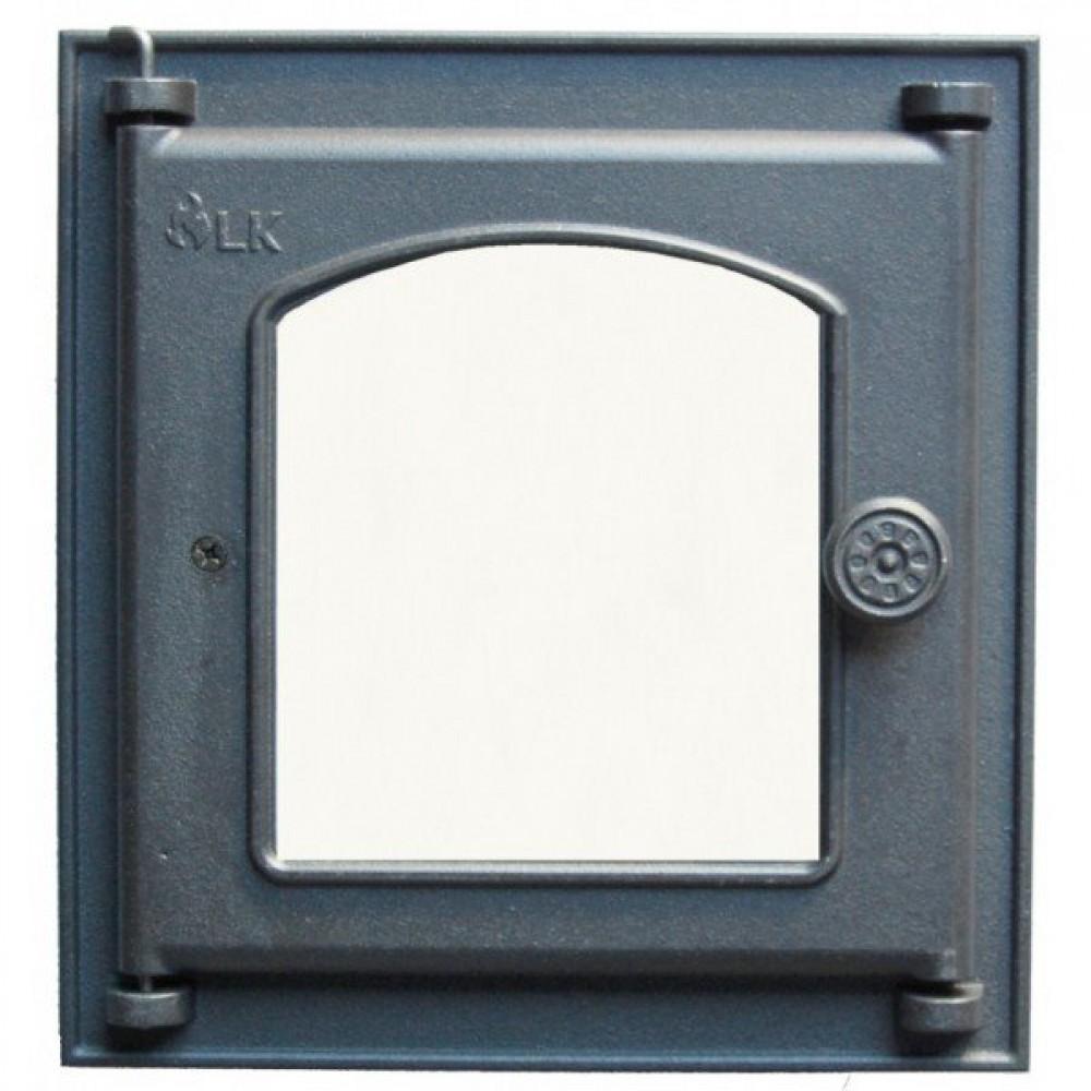 361 Дверца LK Топочная со стеклом