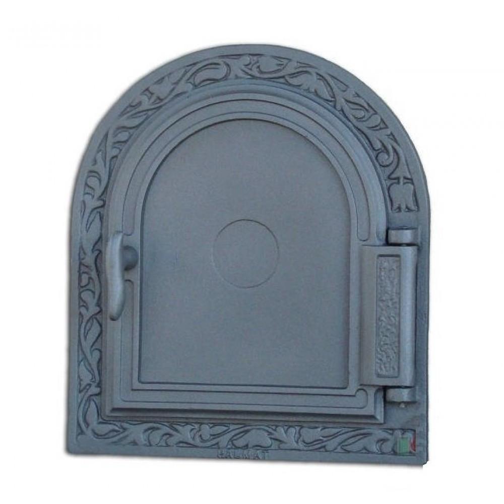 H1612 Дверь печки глухая чугун DPK10