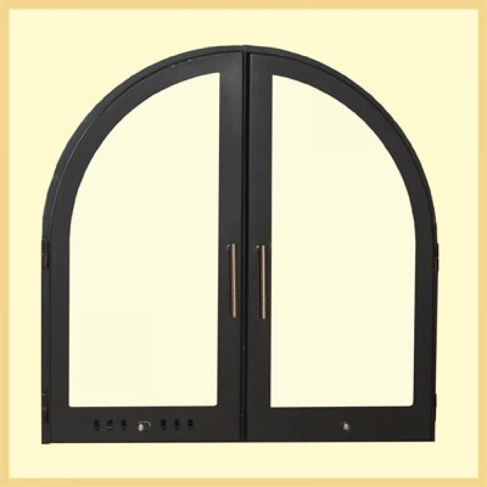 Дверь каминная Арка