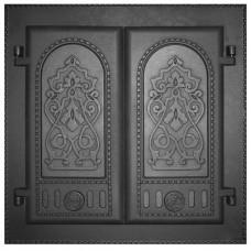 Дверка каминная двухстворчатая ДК-6